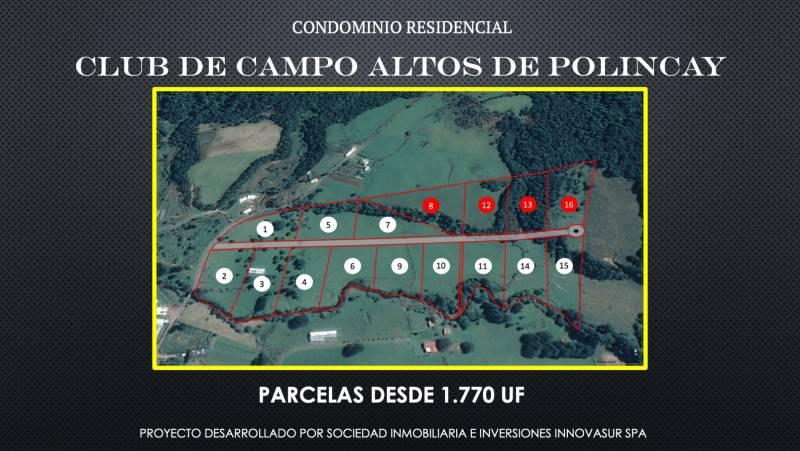 PARCELA EN HERMOSO PROYECTO RESIDENCIAL SECTOR POLINCAY