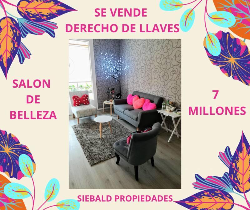 DERECHO DE LLAVES SALÓN DE BELLEZA VIÑA DEL MAR