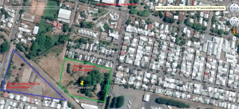 Vendo 2 hectáreas urbanas  6 UF el MTS2 Los Ángeles.