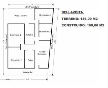 Casa en calle Bellavista,