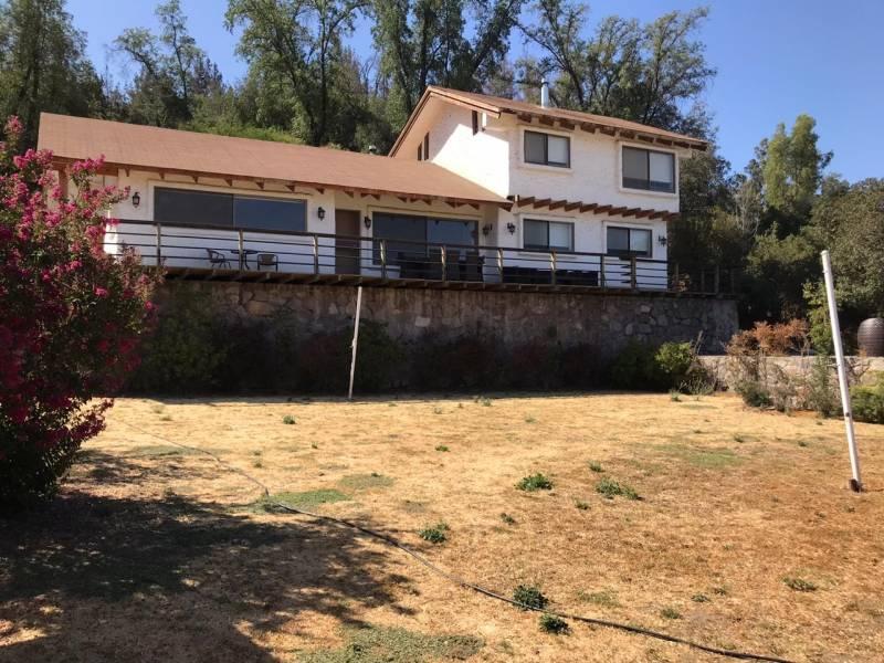 Espectacular casa en condominio en Aculeo