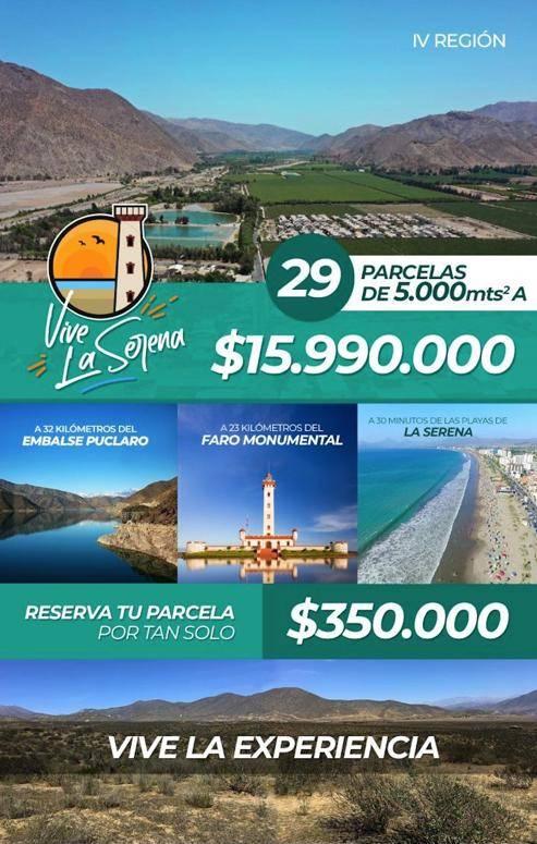 ULTIMAS PARCELAS 5000M2, ROL PROPIO A $15.990.000
