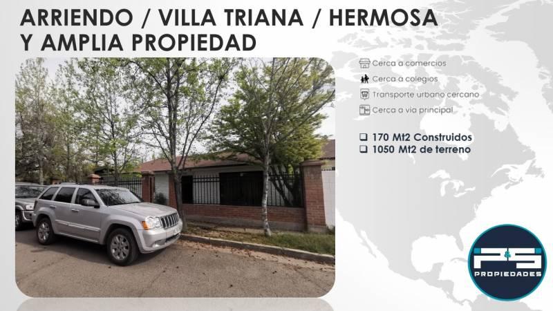 EXCELENTE Y AMPLIA CASA EN VILLA TRIANA