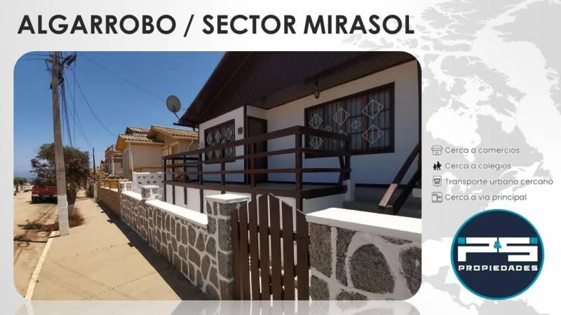 Vive cerca de la Playa / Algarrobo Norte / Sector Mirasol /