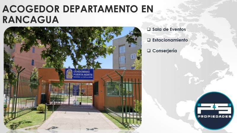 Acogedor departamento en Condominio Puerta Norte