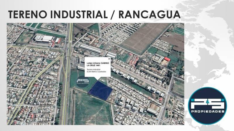 Terreno Industrial / Camino La Cruz / Rancagua