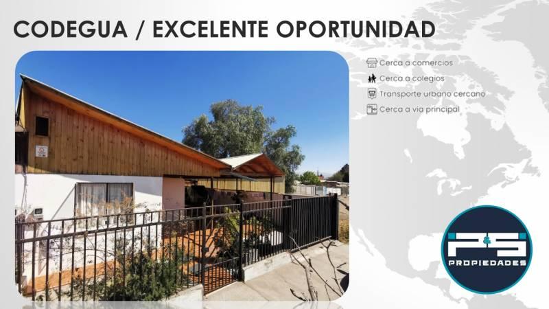CODEGUA / EXCELENTE OPORTUNIDAD