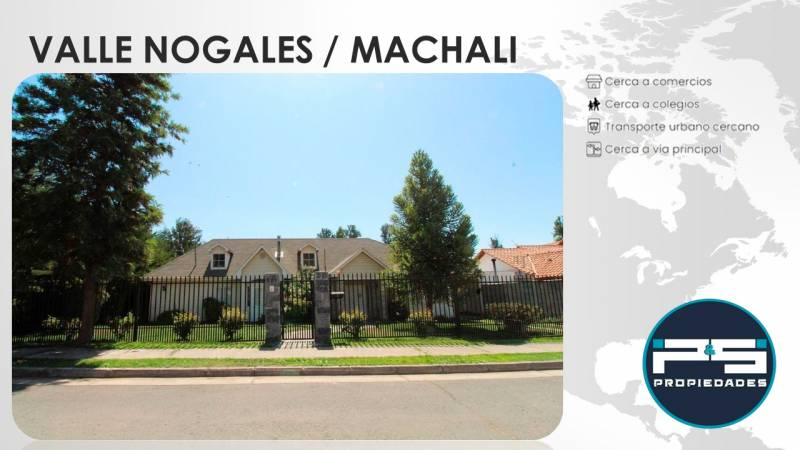 Excelente oportunidad en Valle Nogales, Machali