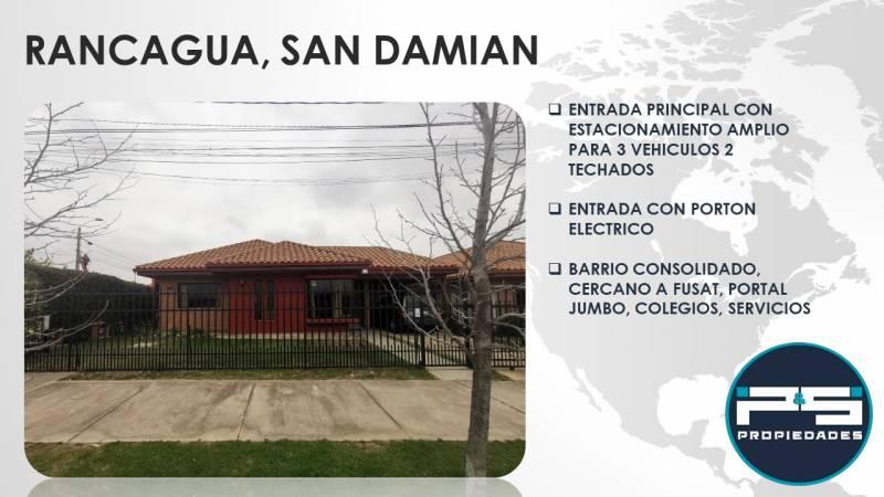 RANCAGUA, SECTOR SAN DAMIAN, GRAN CRECIMIENTO Y PLUSVALIA