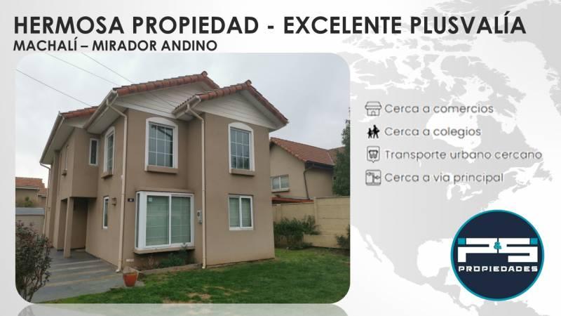Casa en Exclusivo Sector de Machalí - Mirador Andino -