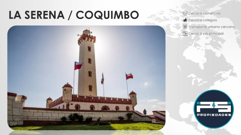 La Arboleda / Serena / Coquimbo / Vende P&S Propiedades SpA
