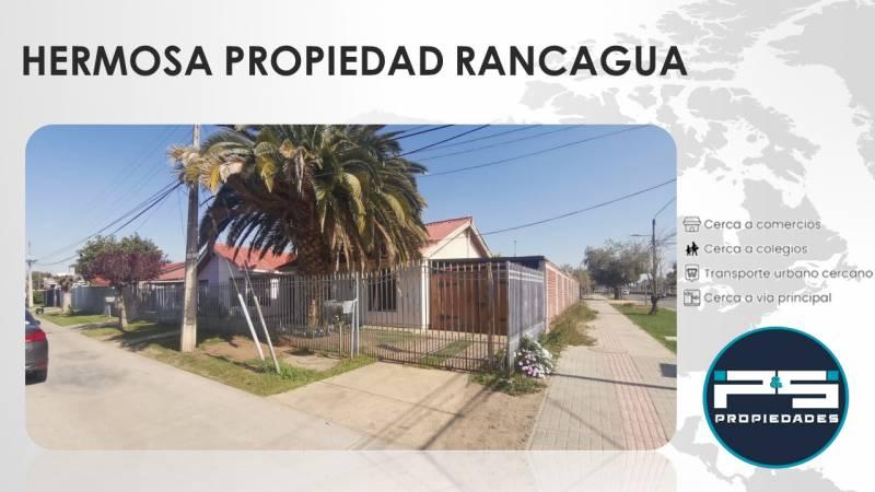 Rancagua - Excelente propiedad en Barrio Consolidado