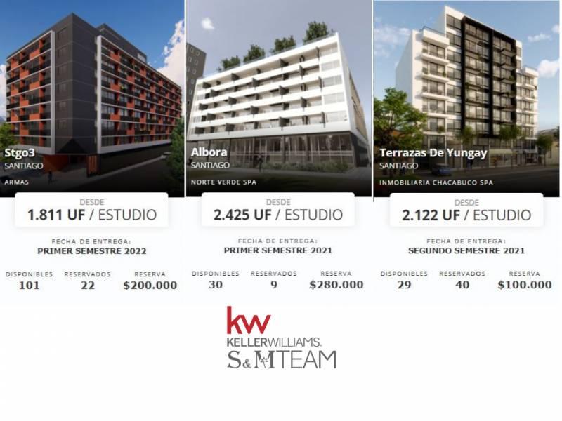 S&M Team presenta Proyectos Nuevos en Santiago Centro