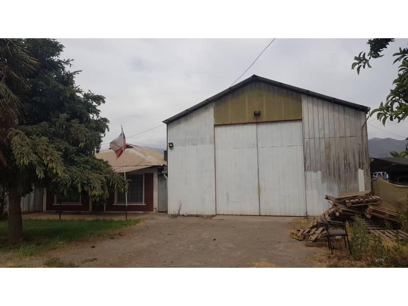 Se vende Casa con Galpon y Sitio industrial en Codegua