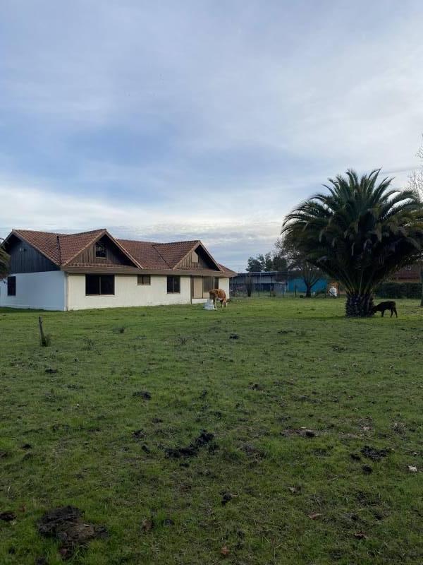 CASA UBICADA EN TERRENO DE 5000 M2. A 100M2 DE CARRETERA.