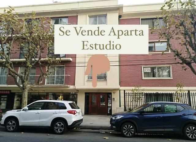 SE VENDE HERMOSO APARTAMENTO ESTUDIO EN 4 NORTE VIÑA DEL MAR