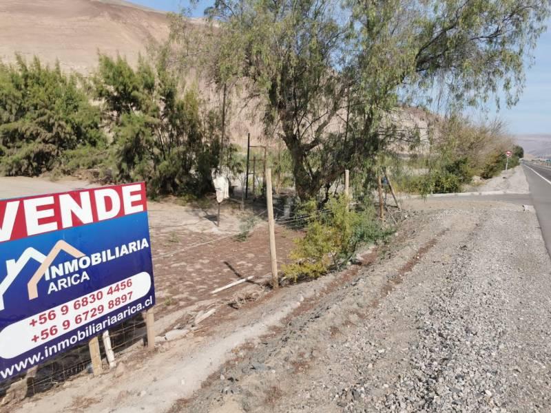 Parcela en Valle de Chaca, Con Pozo, luz y agua potable