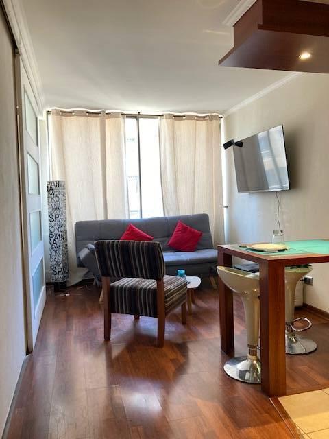 AMOBLADO -1 Dormitorio- Estacionamiento