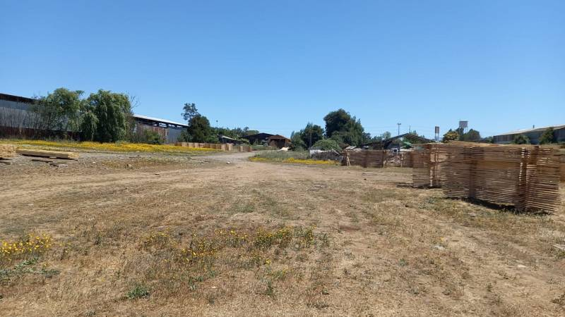 (3001)Vendo amplio terreno, uso de suelo industrial en Talca