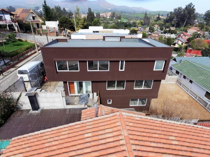 (34 V) Villa Alemana. Casa Tres Niveles