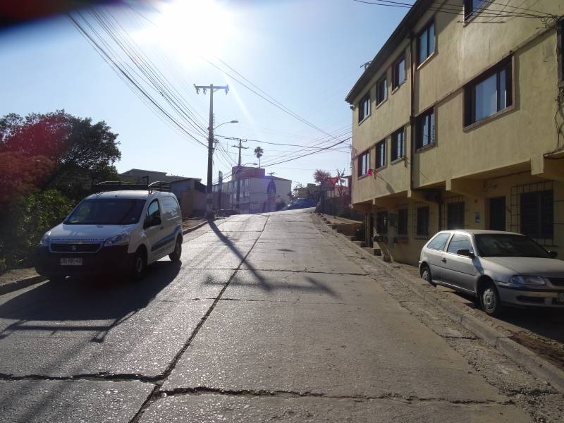 (314 V) TERRENO, CERRO ALEGRE - VALPARAISO