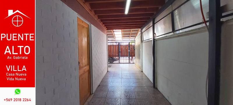 CASA EN GERANIO DEL BOSQUE, PUENTE ALTO.