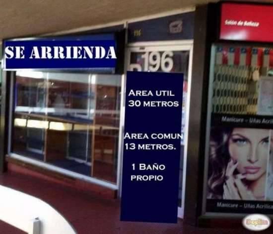 DUEÑA, ARRIENDO LOCAL COMERCIAL N° 196, EDIFICIO CARACOL,