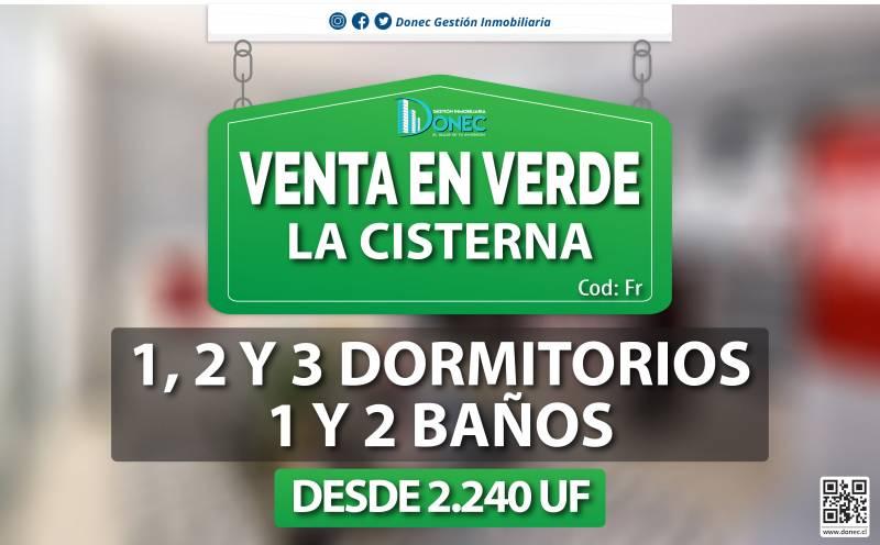 DEPTOS. NUEVOS 1, 2 Y 3 DORMITORIOS, LA CISTERNA