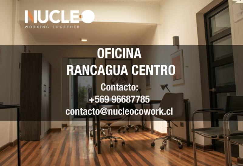 ARRIENDO OFICINA EN EL CENTRO DE RANCAGUA