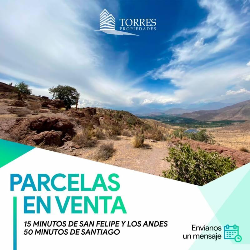 PARCELAS EN VENTA CERCA DE SANTIAGO, AUCO, RINCONADA DE LOS
