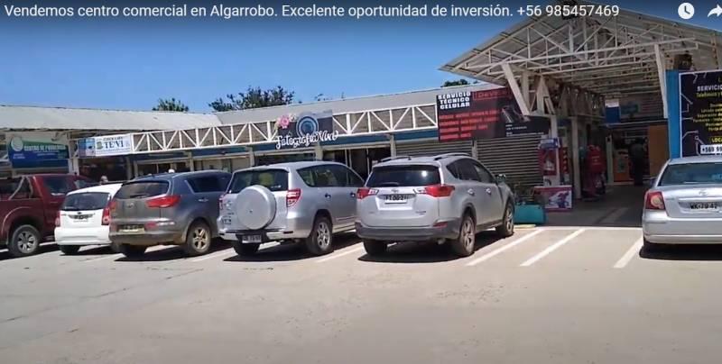VENA DE CENTRO COMERCIAL EN ALGARROBO - INVERSIONISTAS