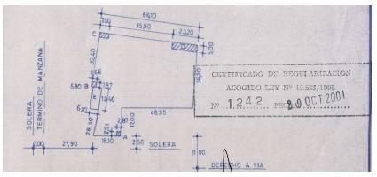 SE VENDE TERRENO UBICADO EN BERNARDO O'HIGGINS 429, ARICA