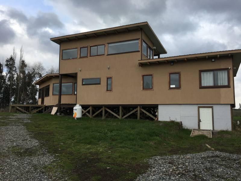 Hermosa casa nueva Talquipen Sur, Camino Chillan- Coihueco