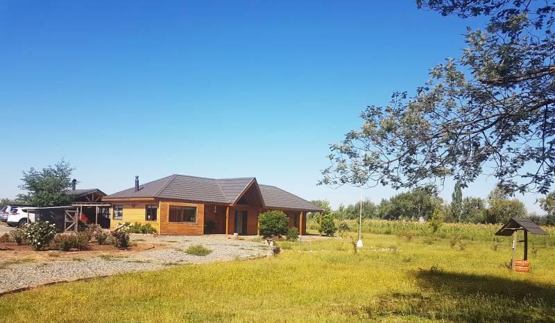 Hermosa casa en Parcela  a 1,5km ruta 5 Sur