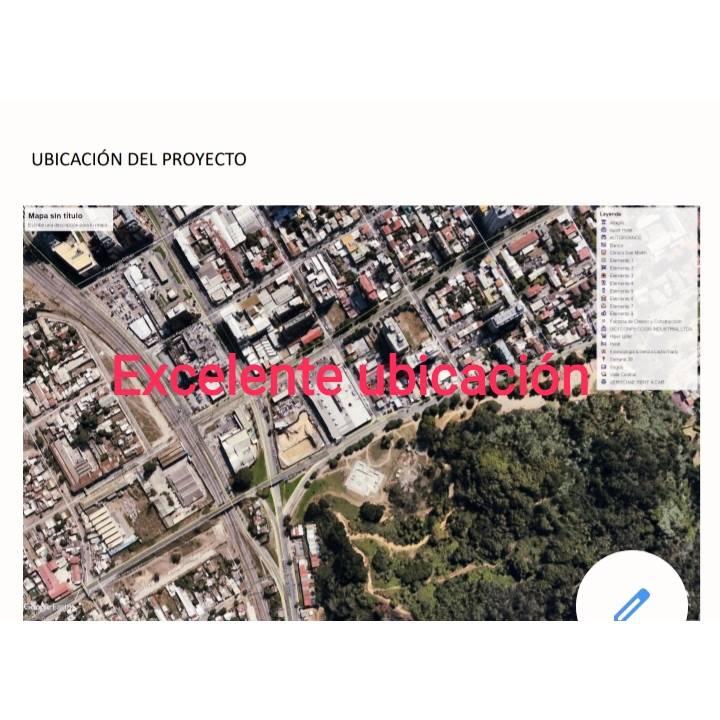 ATRACTIVO TERRENO CON ANTEPROYECTO CABIDA 148 DPTOS13 PISOS