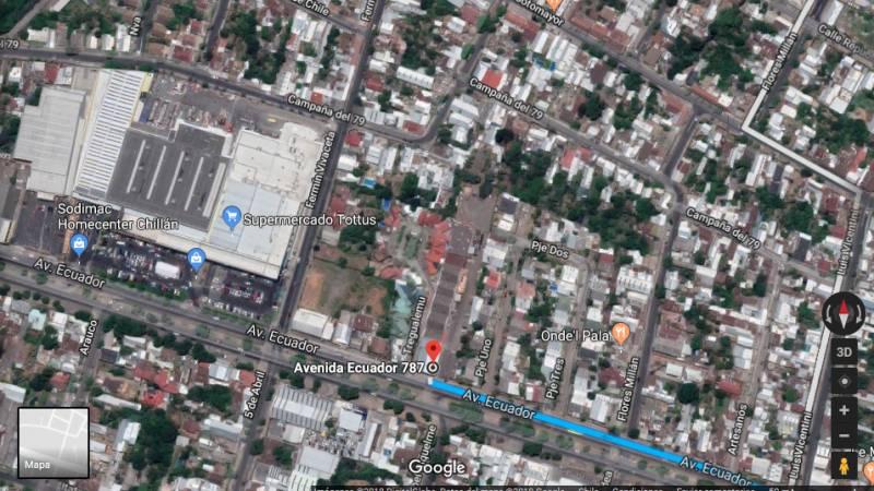TERRENO 5000M2 EN AVDA. ECUADOR CHILLÁN