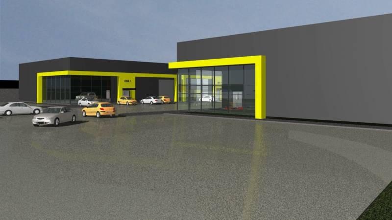 Nuevo Proyecto Comercial e Industrial en Longitudinal Norte