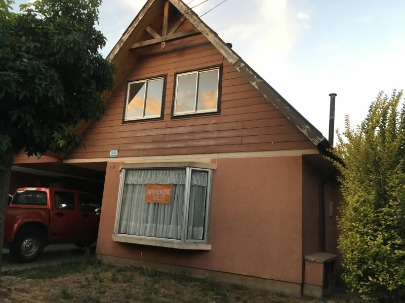 Se arrienda casa de 92 mts2 en villa España, Los Ángeles