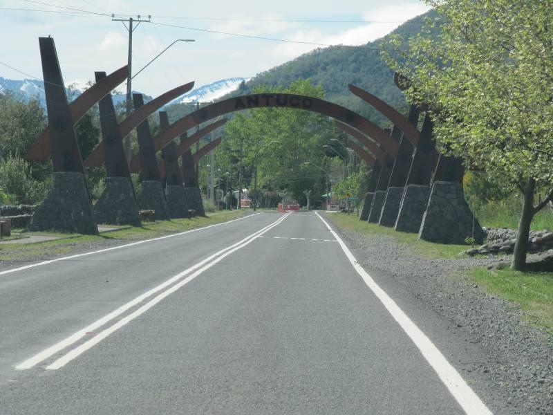 Parcela 5000 mts2,orilla camino,  a 1 km de Antuco
