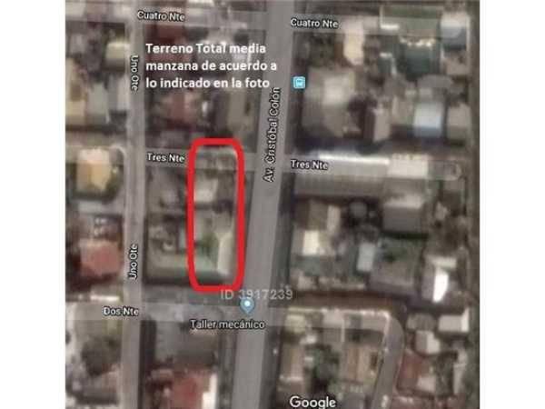 Se vende  Sitio Urbano, Calle Colón Talcahuano