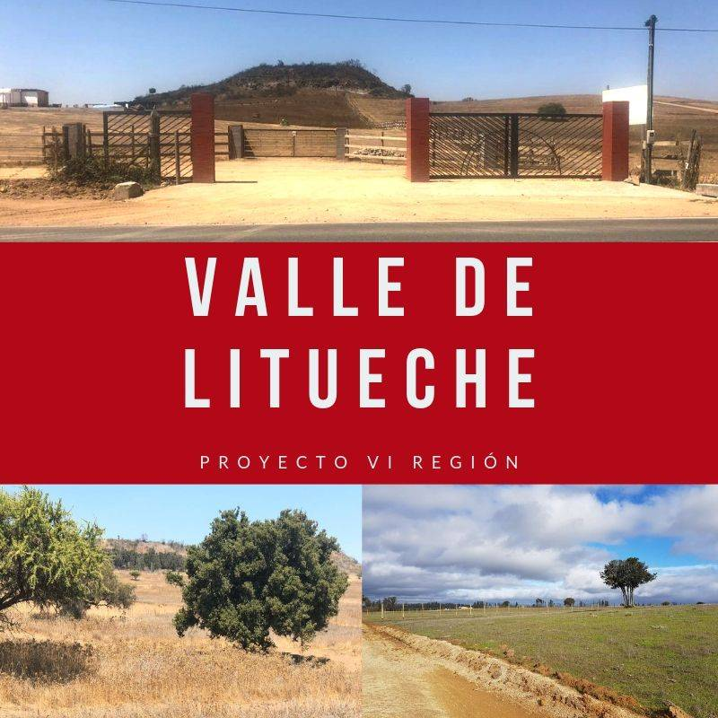 VENTA PARCELA / VALLE DE LITUECHE