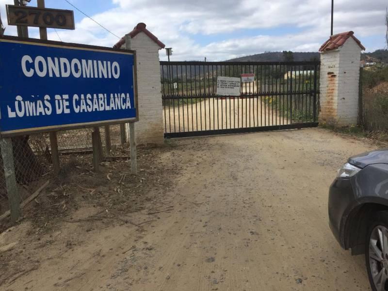 HERMOSA PARCELA CONDOMINIO LOMAS CASA BLANCA