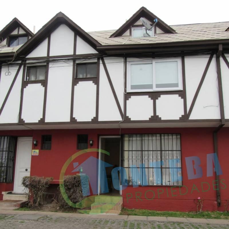 Venta de casa en condominio Dr Johow Nuñoa
