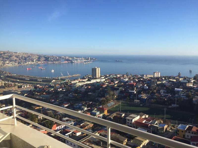 Valparaíso, Bahia Mirador venta departamento con gran vista