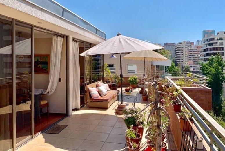 Vitacura, El Arcangel  gran departamento, terrazas
