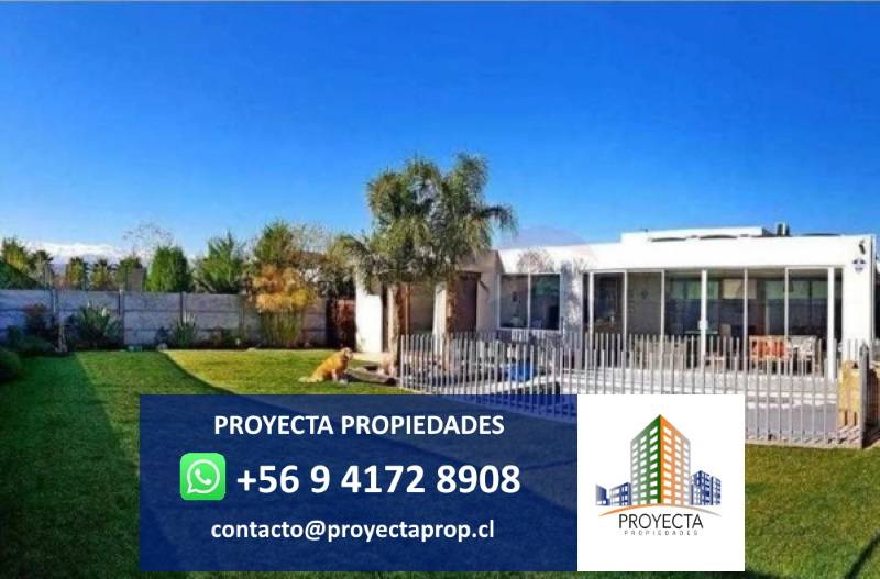 Impecable casa Quilay - Santa Elena de Chicureo