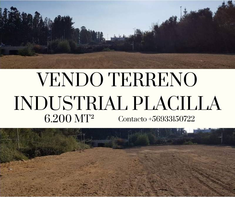 TERRENO INDUSTRIAL PLACILLA