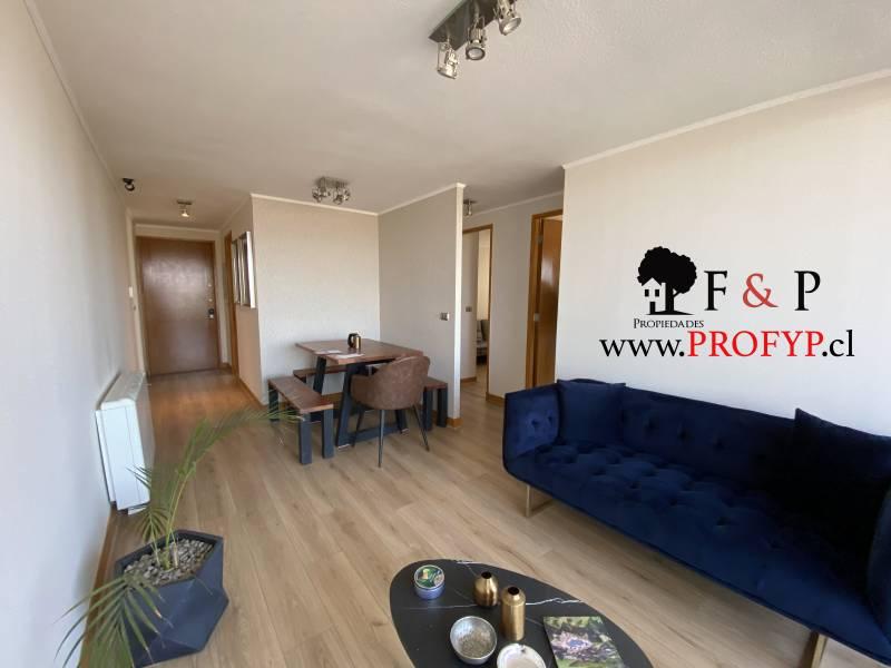 Departamento en venta Macul, 2 dormitorios y terraza amplia