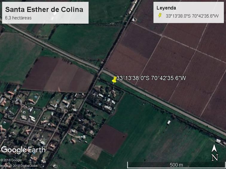 Santa Esther de Colina, 12 parcelas a pasos de la autopista