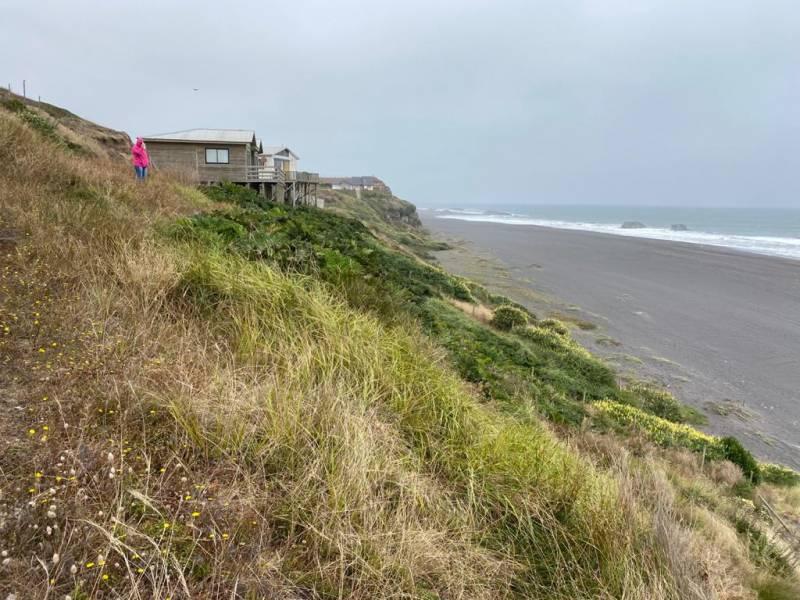 Sitios frente a las playas de Chanco, Región del Maule